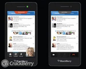 La diapositiva filtrada dice que la función 'Compartir pantalla' llegará a BlackBerry 10
