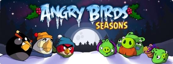 Saludos de temporada de Angry Birds