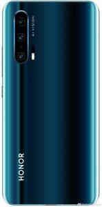 La fuga de imagen de Honor 20 Pro muestra cámaras cuádruples en la parte posterior y diseño degradado