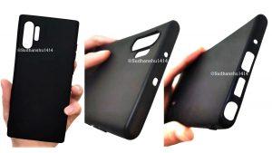 La fuga de la funda Samsung Galaxy Note 10 Pro insinúa la falta del botón Bixby y el conector para auriculares
