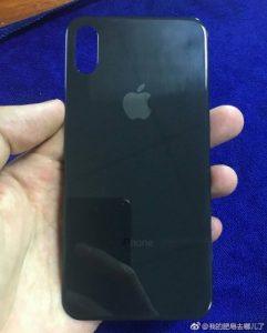 La fuga del panel posterior del iPhone 8 reconfirma la configuración de la cámara dual vertical