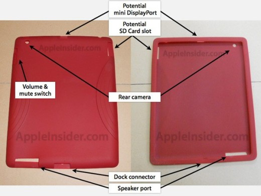 La fuga visual del iPad 2 revela nuevas ranuras