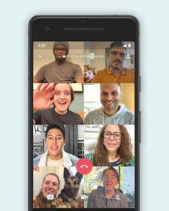 La función de llamadas grupales de WhatsApp con hasta 8 personas ahora está disponible