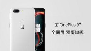 La imagen de la variante OnePlus 5T Sandstone aparece en línea antes del lanzamiento esperado