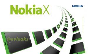 La imagen de prensa de Nokia X se filtra, confirma el nombre