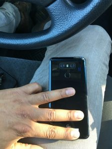 La imagen filtrada del LG G6 muestra la parte posterior brillante con cámaras duales