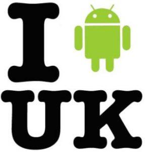 La mitad del Reino Unido posee un teléfono inteligente, casi el 50% funciona con Android