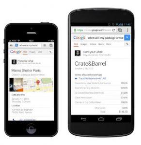 La nueva actualización agrega nuevas funciones para la Búsqueda de Google y Google+