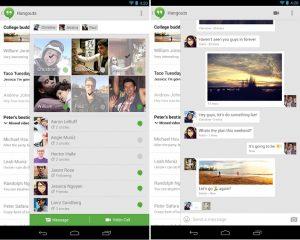 La nueva actualización de Hangouts de Google muestra los contactos en línea