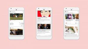 La nueva actualización del feed de Google lo hace más atento a sus intereses