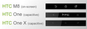 La nueva fuga de HTC M8 muestra botones de navegación en pantalla
