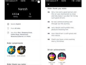 La nueva función de perfil de conductor de Uber para India mejorará la confianza entre pasajeros y conductores