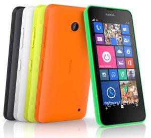 La nueva imagen de prensa del Lumia 630 muestra que no hay botón de cámara ni flash