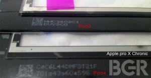 La pantalla actualizada del iPad supuestamente tiene fugas, se notó un recorte más grande de la cámara FaceTime