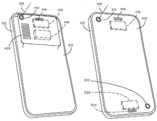 La patente de Apple sugiere una cubierta trasera intercambiable con filtros de cámara para iPhone