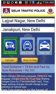 La policía de tráfico de Delhi lanza una aplicación de Android para los ciudadanos