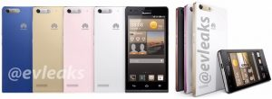 La prensa Huawei Ascend G6 renderiza la superficie;  Puede ser anunciado en el MWC