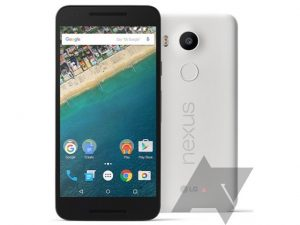 La prensa de LG Nexus 5X renderiza la superficie;  Escáner de huellas dactilares confirmado