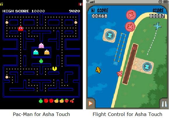 La serie Nokia Asha touch obtiene 22 juegos nuevos