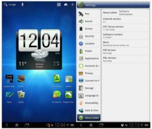 La tableta HTC Flyer recibe la actualización Honeycomb