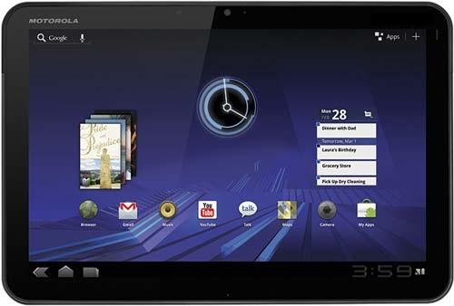 La tableta Motorola XOOM llega oficialmente a la India