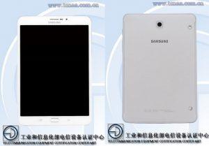 La tableta Samsung Galaxy Tab S3 8.0 pasa TENAA