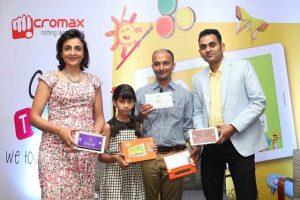 La tableta de la familia Micromax Canvas Tabby diseñada para niños se lanzó para Rs.  6499