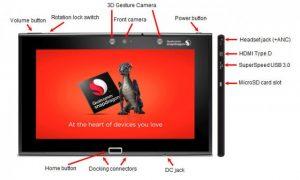 La tableta de referencia Snapdragon 805 de Qualcomm para desarrolladores estará disponible en unas pocas semanas