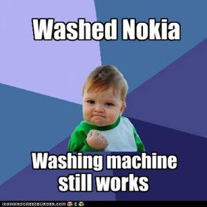 La tecnología súper seca de Nokia para tu teléfono