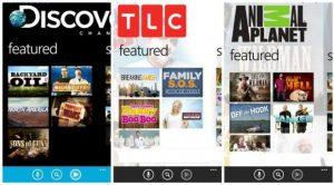 La tienda de Windows Phone ahora se jacta de las aplicaciones oficiales de Discovery, TLC y Animal Planet