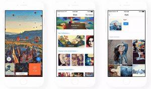 La última actualización trae la tienda en la aplicación a Prisma, pronto permitirá a los usuarios crear sus propios filtros