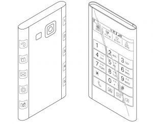 La última patente de Samsung insinúa el diseño del Note 4