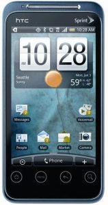 La última versión del año de HTC: ¡HTC Evo Shift 4G!