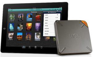 La unidad de almacenamiento LaCie de 1 TB para iPads y iPhones aumenta la memoria de manera exponencial