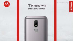 La variante de color gris de Moto M saldrá a la venta a partir del 6 de febrero en India