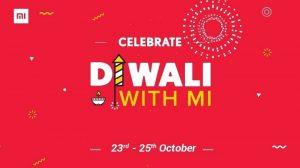 La venta 'Diwali With Mi' de Xiaomi comienza el 23 de octubre con descuentos, venta flash de ₹ 1 y más