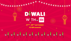 La venta de Xiaomi 'Diwali with Mi' ha comenzado, obtenga las mejores ofertas durante este festival