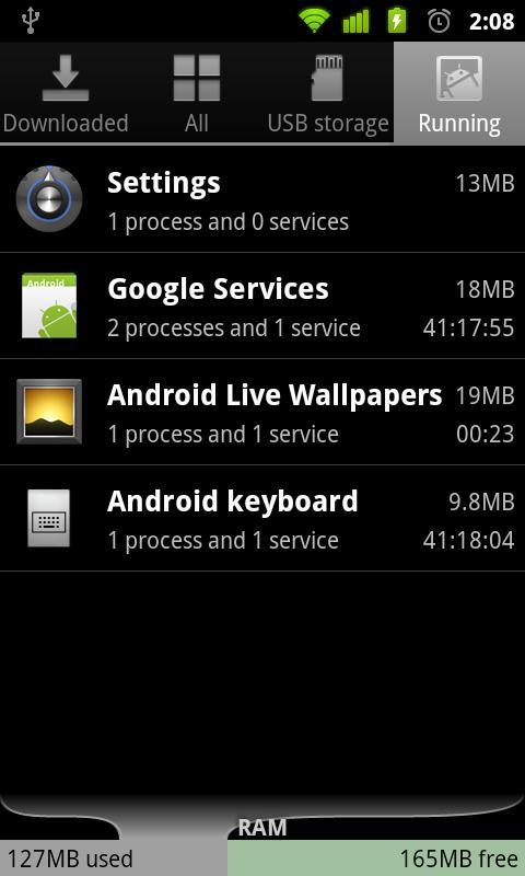 Lanzamiento de Android 2.3