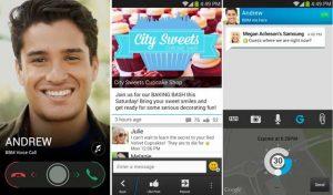 Lanzamiento de BBM 2.0 para Android e iOS;  Agrega canales y soporte de voz