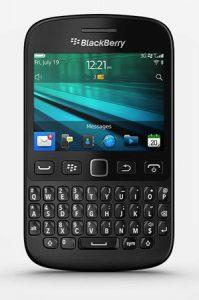 Lanzamiento de Blackberry 9720 con teclado QWERTY
