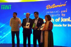 Lanzamiento de Datamini TPOS7 JanUnnati Pad con escáner de huellas dactilares habilitado para Aadhaar