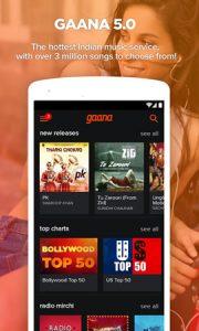 Lanzamiento de Gaana 5.0 para Android;  Trae programas de referencia y nuevas funciones.