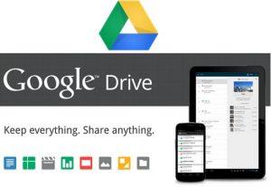 Lanzamiento de Google Drive, ofrece 5 GB de almacenamiento gratuito para todos