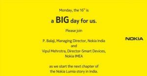 Lanzamiento de Nokia Lumia 1520, 1320 en India el 16 de diciembre