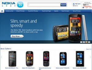 Lanzamiento de Nokia Shop, impulsado por indiatimes