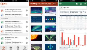Lanzamiento de Office Mobile para iPhone