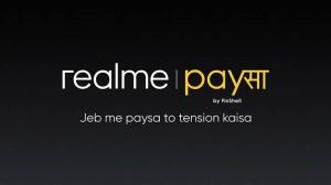 Lanzamiento de Realme PaySa;  ofrece préstamos instantáneos de hasta ₹ 5 lakh