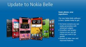 Lanzamiento de la actualización Nokia Belle para dispositivos Symbian Anna
