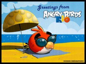 Lanzamiento de la actualización de voleibol de playa para Angry Birds Rio