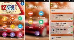 Lanzamiento de la aplicación Auto Expo '14 para dispositivos Nokia Lumia